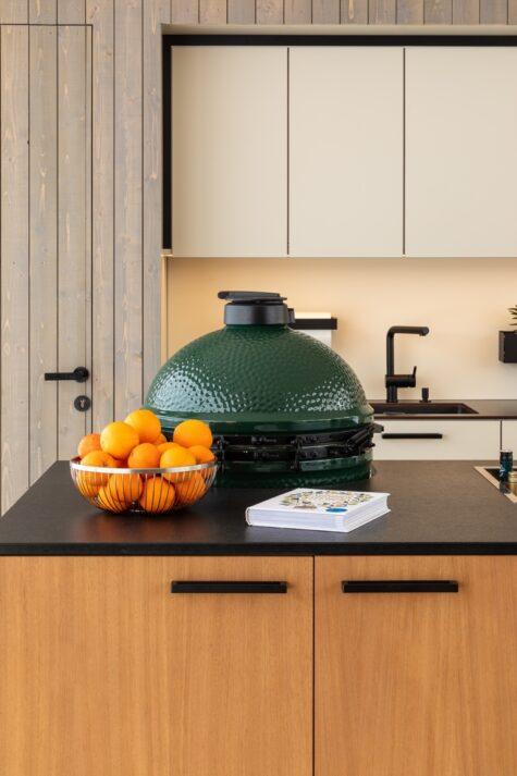Green Egg Einbaumöglichkeit Außenküche