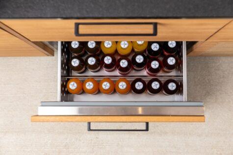 Flaschenpult Einbaumöglichkeit Außenküche